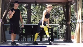Full Body Workout-  Total Body Strength Training At Home  - Full Body Workout With Dumbbells