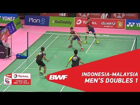Thomas Cup | MD1 | GIDEON/SUKAMULJO (INA) vs GOH V/TAN (MAS) | BWF 2018 Mp3