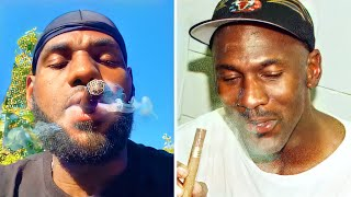 Ways LeBron James Copies Michael Jordan