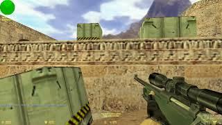 Counter-strike 1.6 Паблик сервер №7 (Поймал читера :D)
