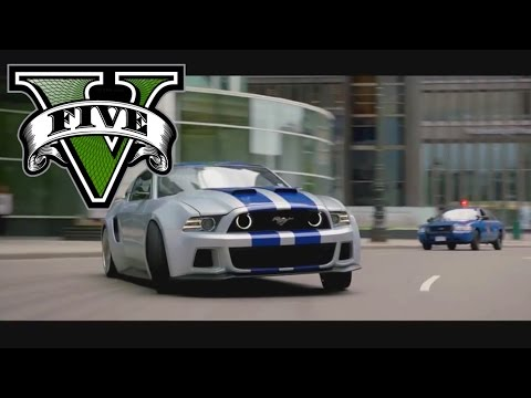 GTA V Need For Speed 2014 Movie - Funny Scene Remake