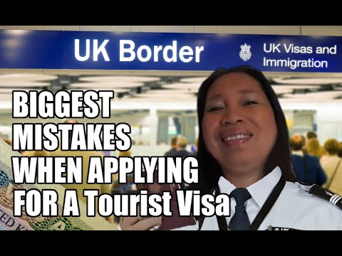 Biggest Mistakes When Applying For A U.K. 🇬🇧 Tourist Visa And How To Avoid It!