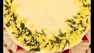 Салат «Мимоза» - нежнейший вкус, с семгой и яблоком. Украшение стола, невероятное сочетание.