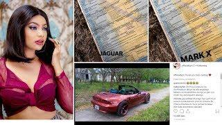 Irene (Lynn) aonesha kadi za magari yake 4 ya kifahari, BMW, Mark X, Volkswagen na Jaguar