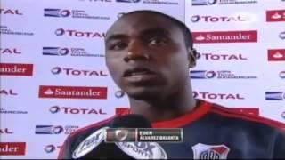 Balanta emocionado [Copa Sudamericana].