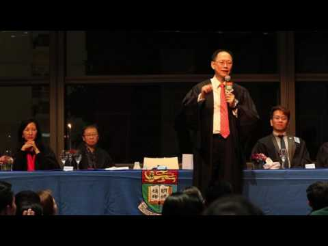 Managing Director of Hang Lung Group Dr. Philip Chen Speaks at Shun Hing College High Table Dinner