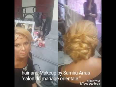 Salon de coiffure mariage oriental