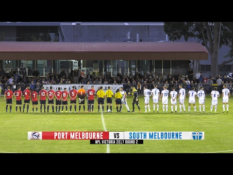 NPL 2017 (R2) :: Port Melbourne v South Melbourne