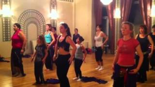 Danceline orientale perçu move