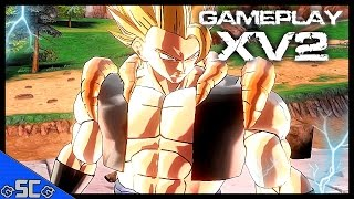 DRAGON BALL XENOVERSE 2 | Super Saiyan GOGETA VS Kid Son GOKU & TRUNKS GAMEPLAY【60FPS 】