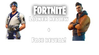 My fortnite locker + face reveal! | OG Scarce