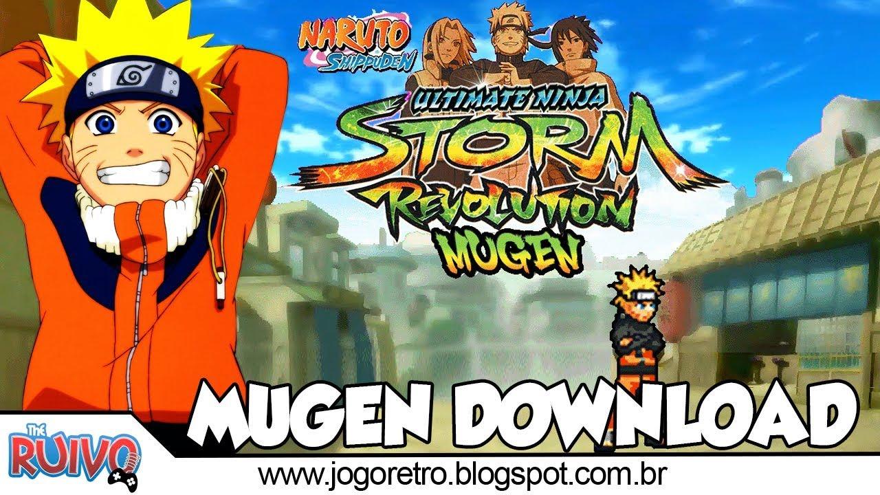 Naruto Shippuden Ultimate Ninja Storm Revolution 2018 (TAG System MUGEN) em  Português