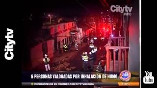 Citytv: Incendio en el centro de Bogotá