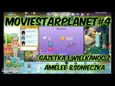 MovieStarPlanet#5 - Gazetka I Wielkanoc Na MSP! /Amelka Znowu śpiewa.