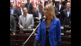 Valeria Amendolara - Jura Cámara de Diputados