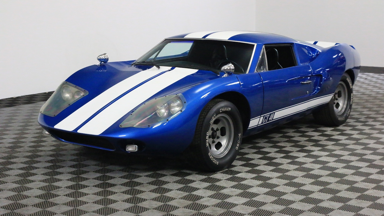 1965 ford gt40 replica youtube. Black Bedroom Furniture Sets. Home Design Ideas