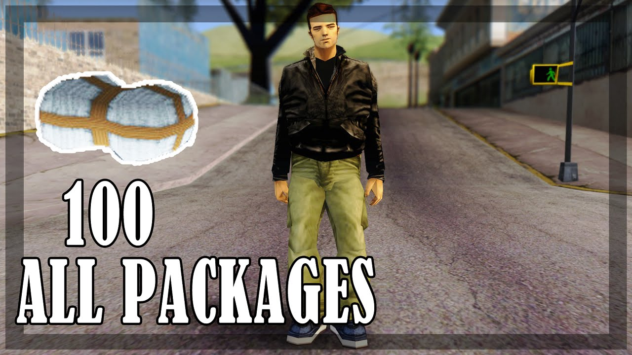 GTA 3  All 100 hidden packages on start of the game and rewards