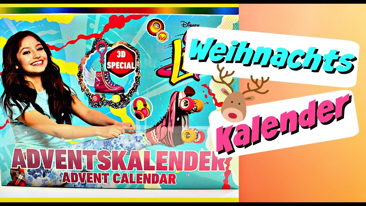 soy luna adventskalender weihnachtskalender f r kinder 9999 dinge youtube. Black Bedroom Furniture Sets. Home Design Ideas
