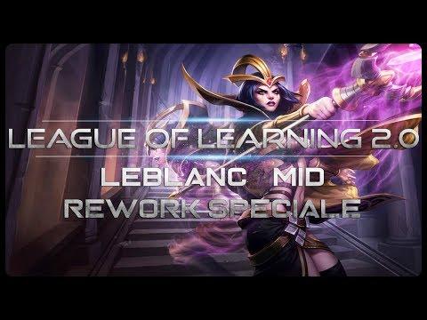 """[ITA-GUIDA] LE BLANC """"NUOVA"""" PICK OR BAN - LE BLANC MID - League Of Legends"""