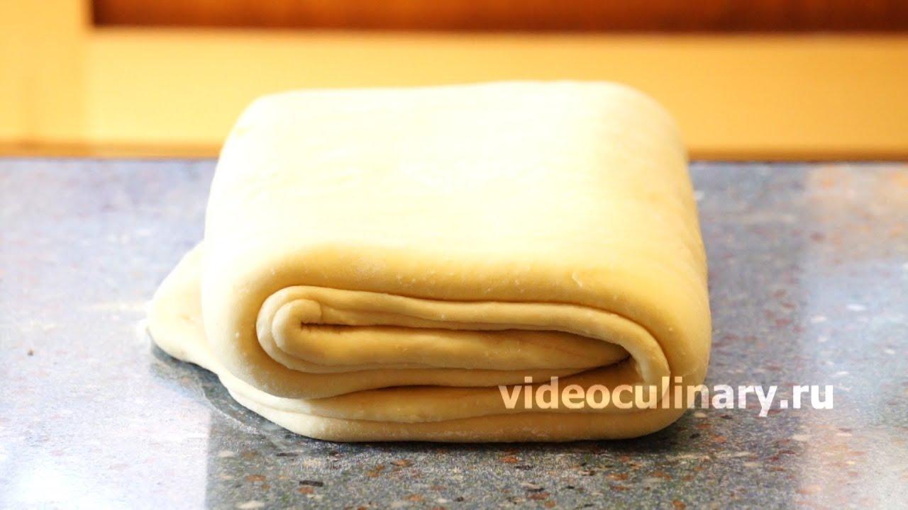 Слоеное дрожжевое тесто с мясом рецепты с фото