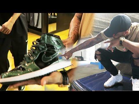 $3,000 DOLLAR DESIGNER BACKPACK! G-STAR JEANS & SOME HEAT! Sneaker Vlog Ep.43!