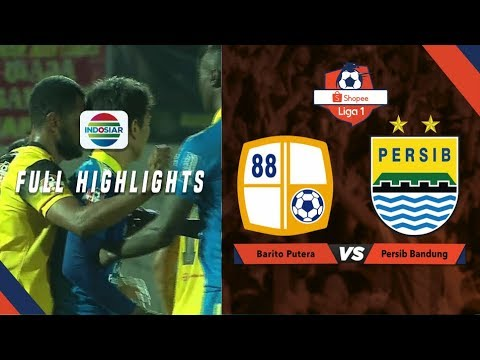 Barito Putera (1) vs (0) Persib Bandung - Goals Highlights | Shopee Liga 1