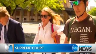 Media Coverage of our court appearance