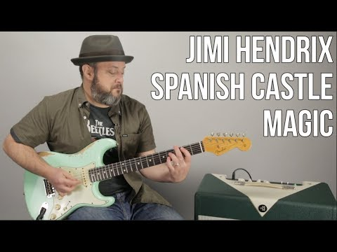 "Jimi Hendrix Guitar Lesson For ""Spanish Castle Magic"""