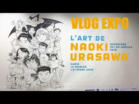 L'art de Naoki Urasawa Expo Paris 2018 - Expo Manga - Vlog 🇫🇷🇯🇵