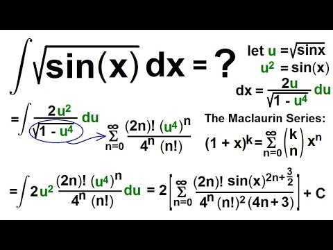 how to take integral of sin 2
