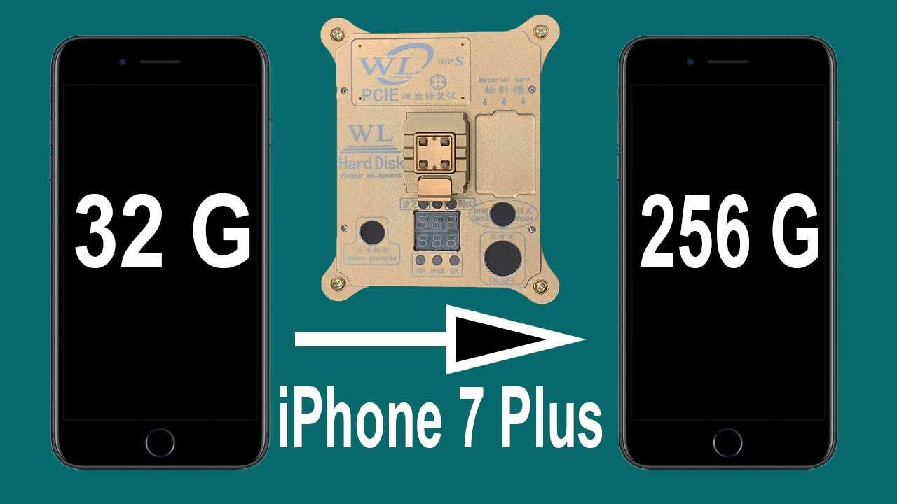 how to upgrade iphone storage upgrade iphone 7 plus storage from 32 to 256g by 17305