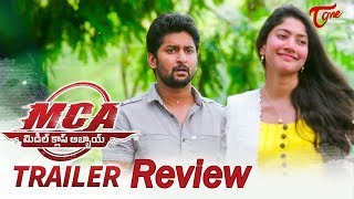 MCA Middle Class Abbayi Trailer Review   Nani   Sai Pallavi   DSP   Dil Raju