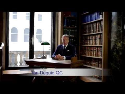 An Intro To Black Chambers - Expert Advocacy By Ian Duguid QC