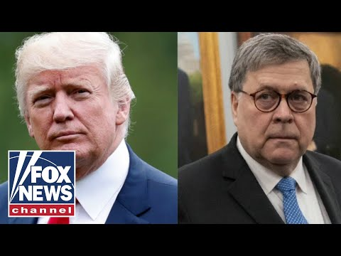White House responds to Barr's concerns with Trump tweets