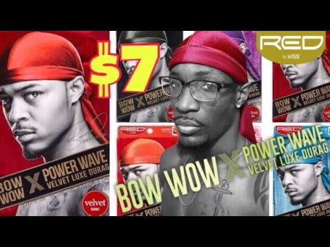 360 WAVES: BEST CHEAPEST VELVET DURAG IN 2019 | RED BY KISS BOW WOW DURAG