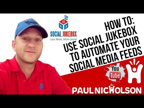 How To Auto Post To Your Facebook, Linkedin, Twitter Using Social Jukebox  - Social Media Made Easy