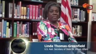 Linda Thomas Greenfield: Liberia is Ready for UNMIL Draw Down