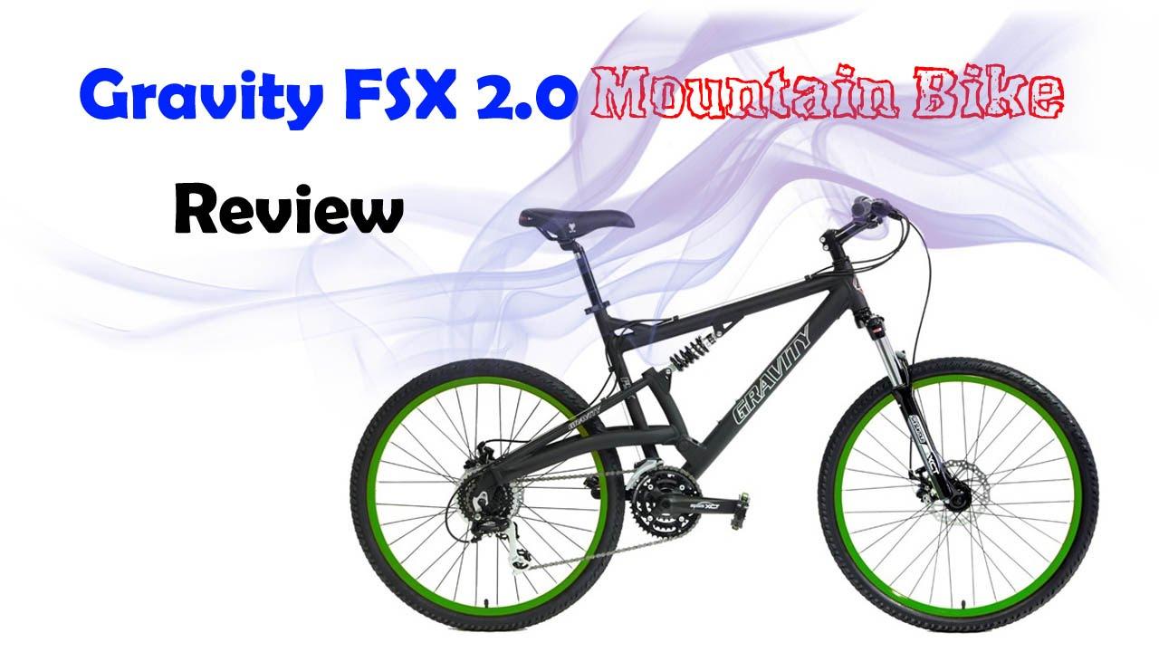 2017 Gravity Fsx 2 0 Dual Full Suspension Mountain Bike Review