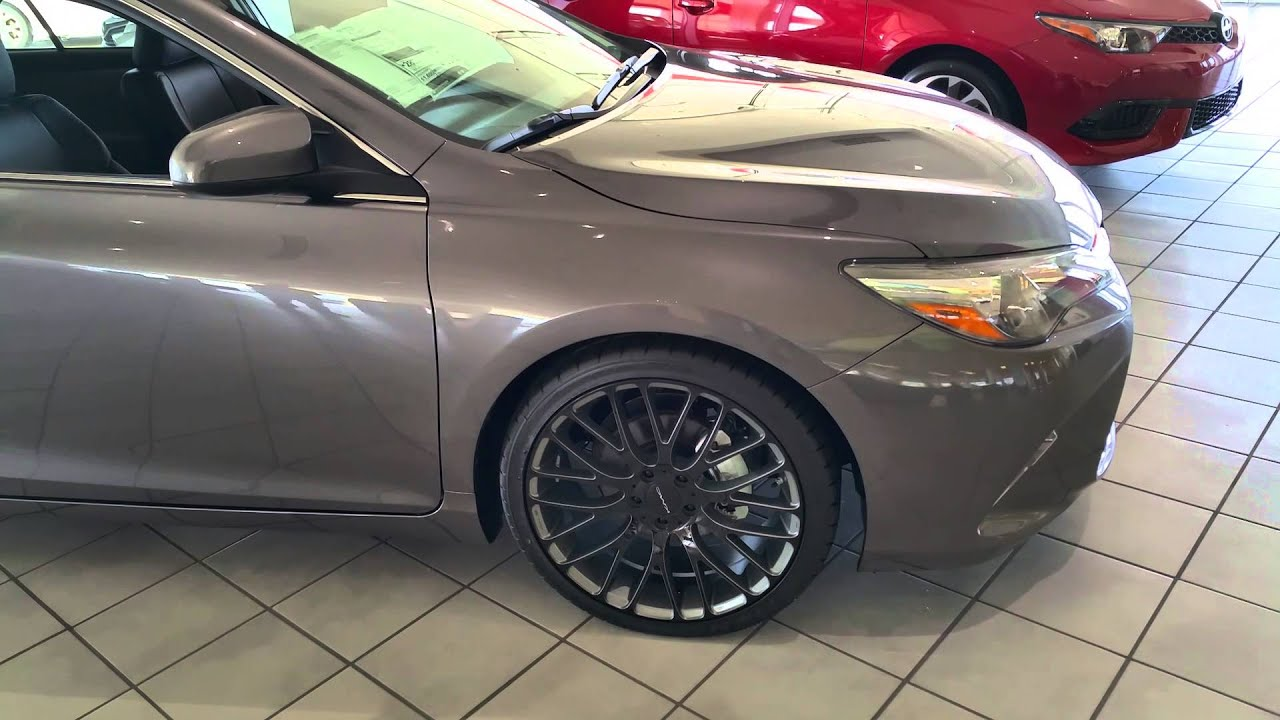 Lake Charles Toyota >> Lake Charles Toyota - Project Vehicles - Custom 2016 Camry SE - YouTube