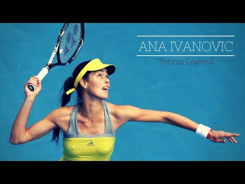 Tennis Legend ANA IVANOVIC - Funny and Sexy Moments