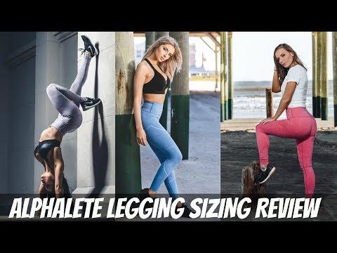 Alphalete Revival Leggings Put To The Test Youtube