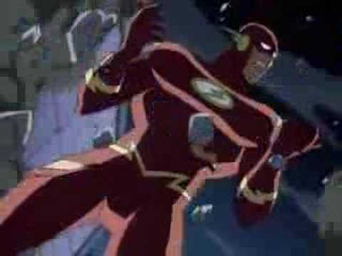 Justice league unlimited (Flashes Speed Force)