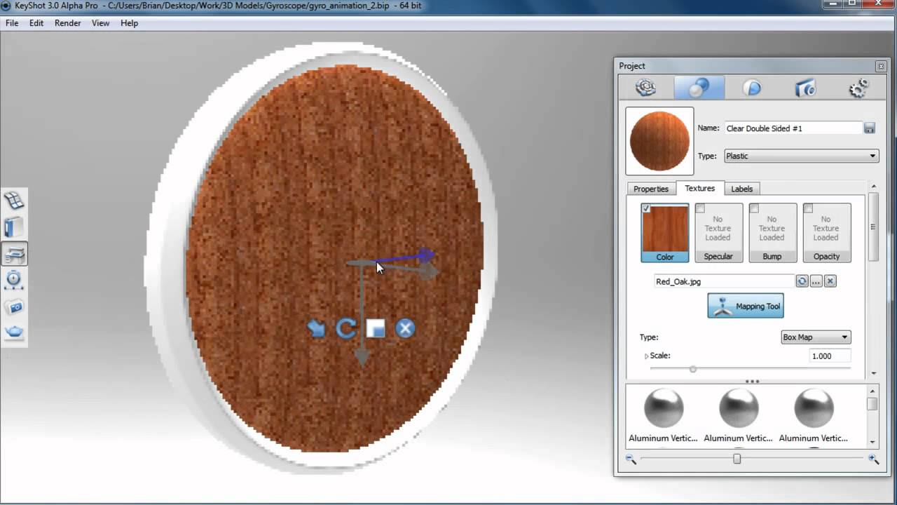 KeyShot 3 Preview: INteractive Texture Mapping - YouTube on