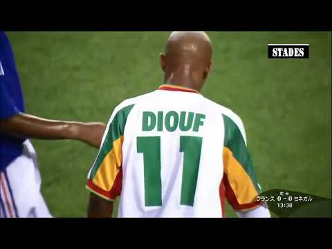 El Hadji Diouf - Senegal Vs France Coupe Du Monde 2002