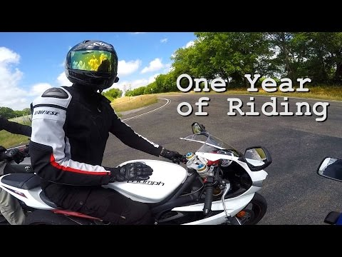 What to Expect on Your First Year of Riding