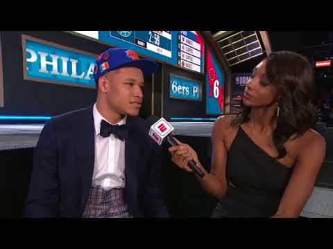 Kevin Knox   Number 9 Overall Pick 2018 NBA Draft