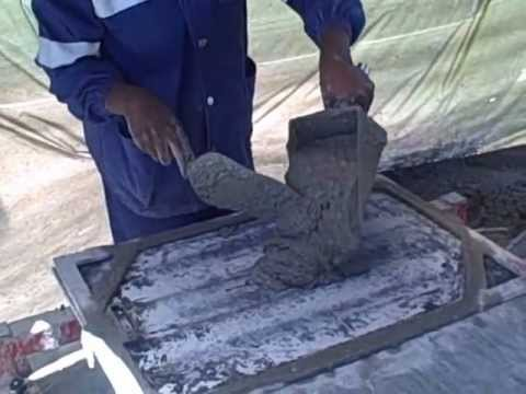 Bebita Amp Ewape Making Micro Concrete Roof Tiles In Zambia