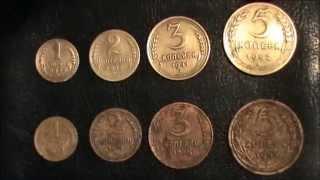 Чистка советских монет из алюминиевой бронзы.Самый простой способ.(, 2015-10-20T20:08:49.000Z)