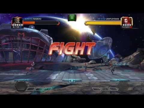 Alliance War Run - Stun Immune Spidy - Hyperion - AV - BW - Mordo