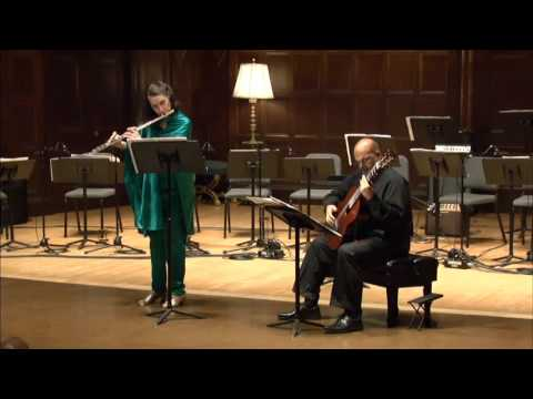 Hammerhead-duo for flute & guitar (Eric Sessler, composer)